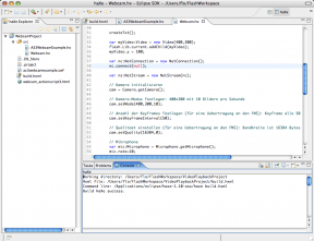 ActionScript 3 mit dem haXe-Compiler in der Eclipse IDE