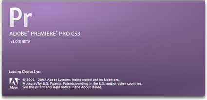 Adobe Premiere CS3 Beta