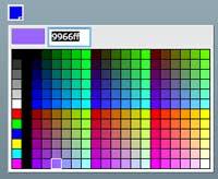 Colorpicker Component Flex