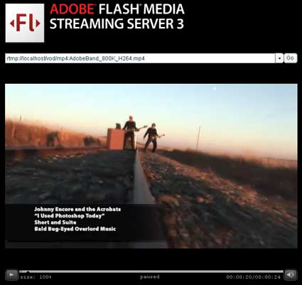 Flash Media Streaming Server