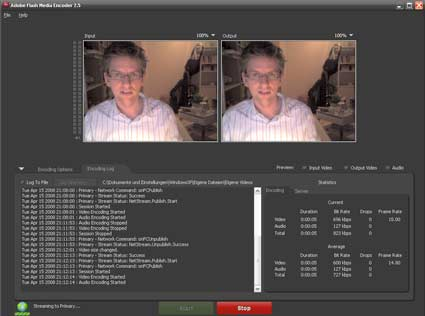 Flash Media Encoder 2.5