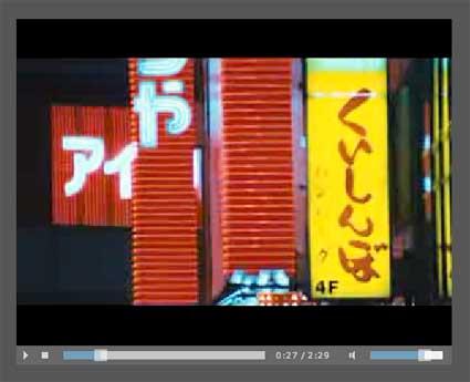 Flex Video Player
