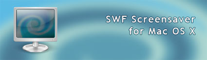 SWF Screensaver for Mac Logo