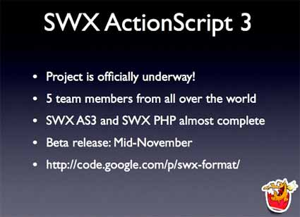 SWX Actionscript 3