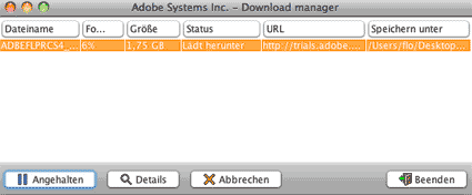 Adobe Download Manager