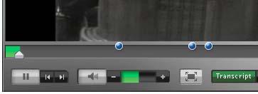 FLV Player Textmarkierungen