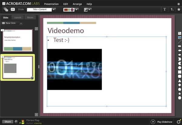 Adobe Acrobat Presentation Labs
