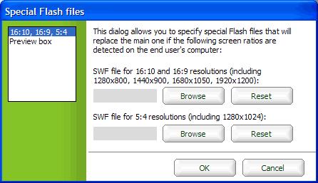 Verschiedene SWF-Files
