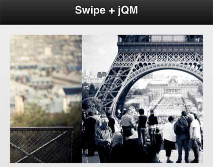 www video-flash de » Swipe JS: Leichtgewichter Slider für